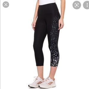 90 Degrees -black and white ombré leggings size-S